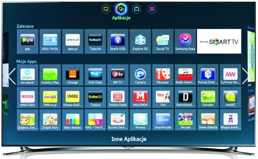 Samsung Smart tv aplikacje