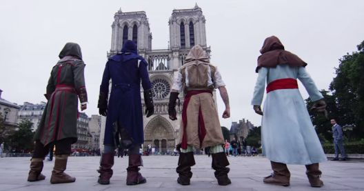assassin's creed unity parkour