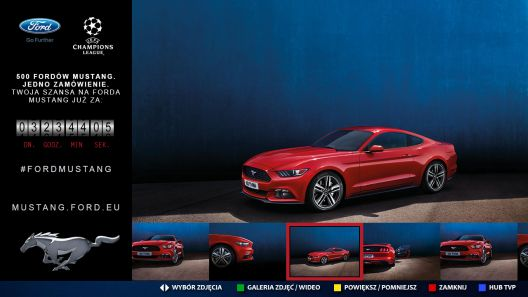 ford mustang hbbtv 2