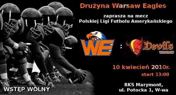 warsaw eagles - devils wroclaw 10.04.2010