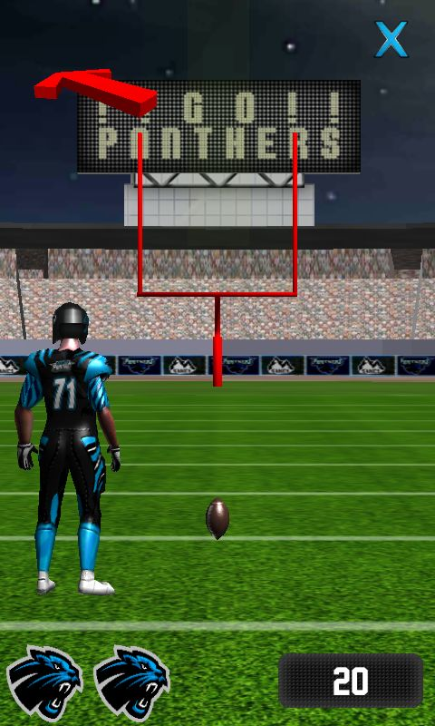 panthers gra field goal