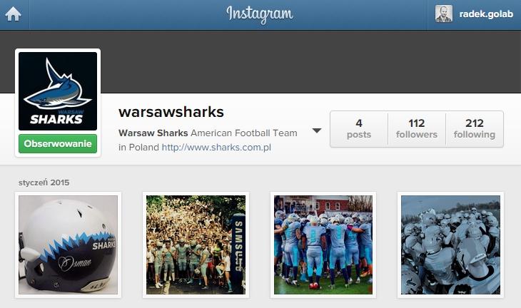 instagram warsaw sharks