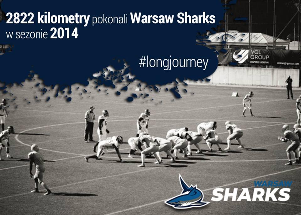 sharks kilometry