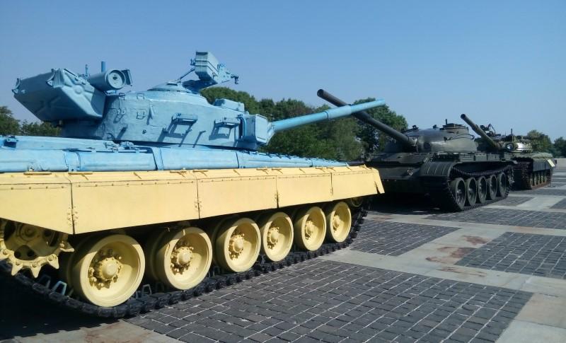 muzeum wielkiej wojny kijow czolgi