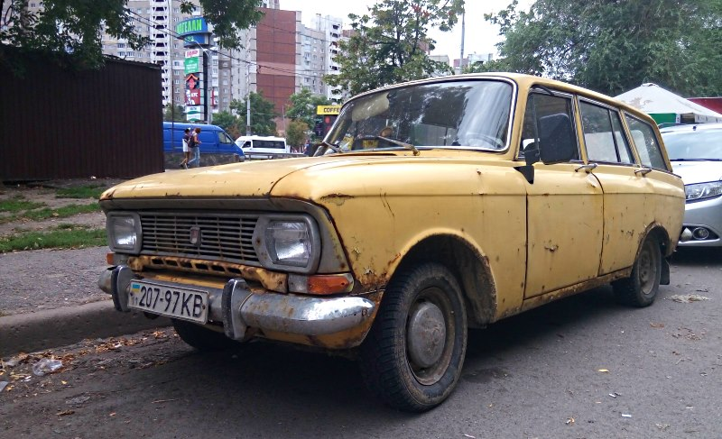 stare samochody kijow 1