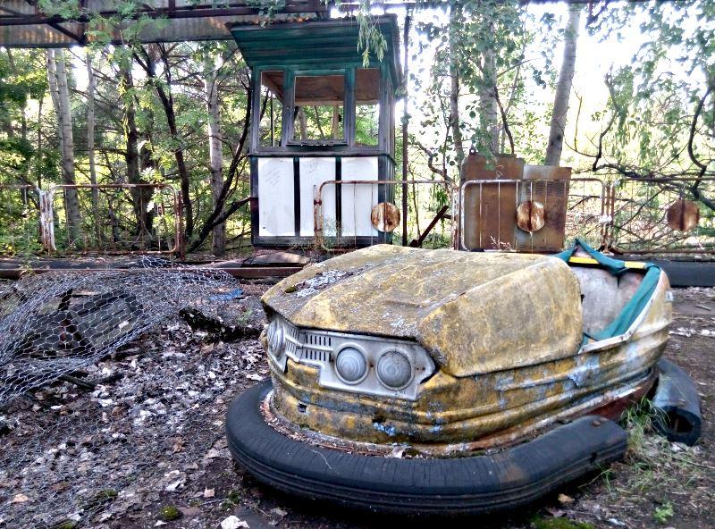 17 czarnobyl prypec wesole miasteczko samochodzik