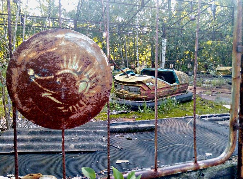 19 czarnobyl prypec wesole miasteczko samochodziki