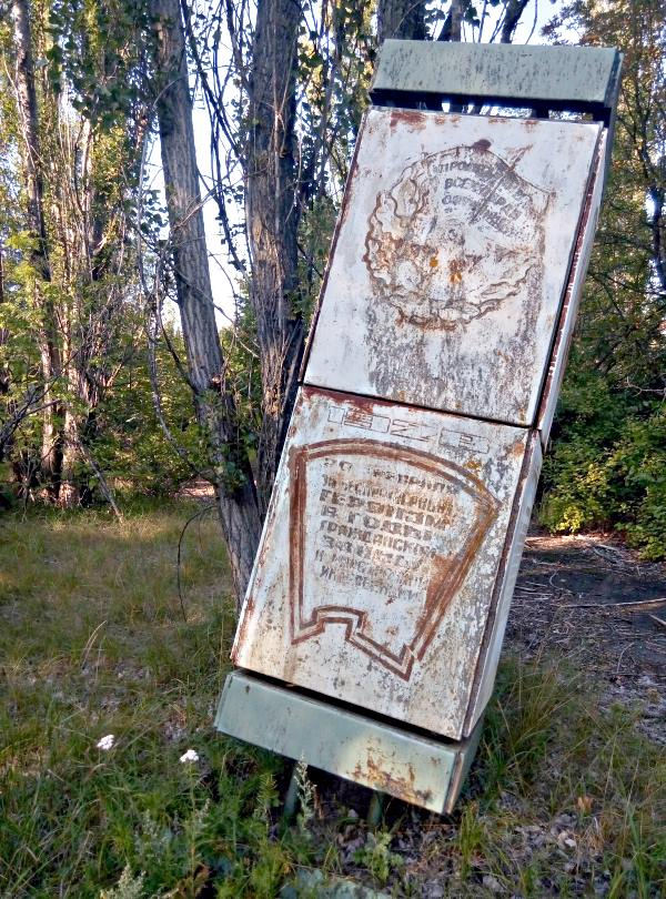 22 czarnoybyl prypec park slup ogloszeniowy