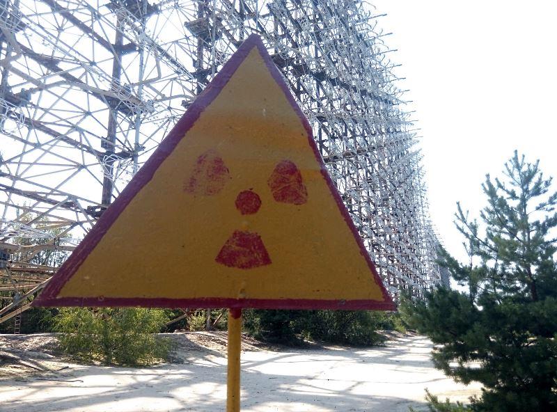 czarnobyl antena radiacja