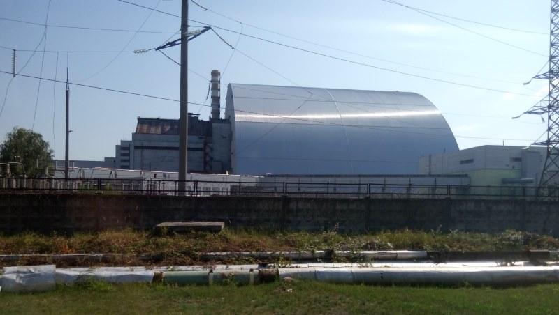 czarnobyl elektrownia sarkofag