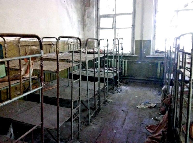 czarnobyl przedszkole sala