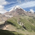 Gruzja: Gergeti – Cminda Sameba – treking w stronę lodowca Ordzweri (Gergeti) i góry Kazbek