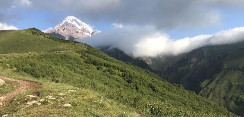 kazbek poczatek trasy