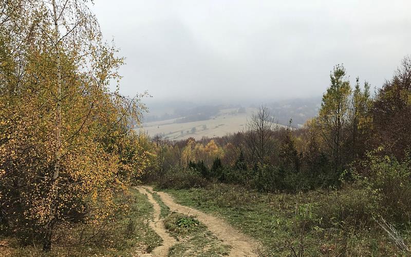 z chatki puchatka do brzegow gornych 5 bieszczady jesienia