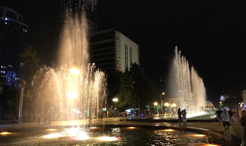 batumi spiewajace fontanny