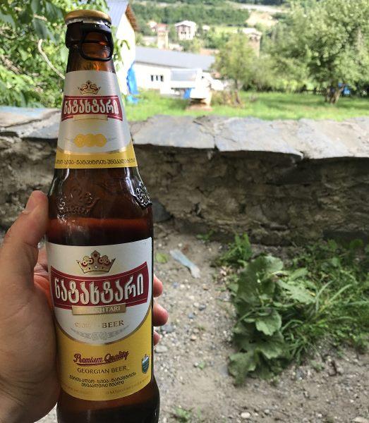 gruzja lokalne piwo