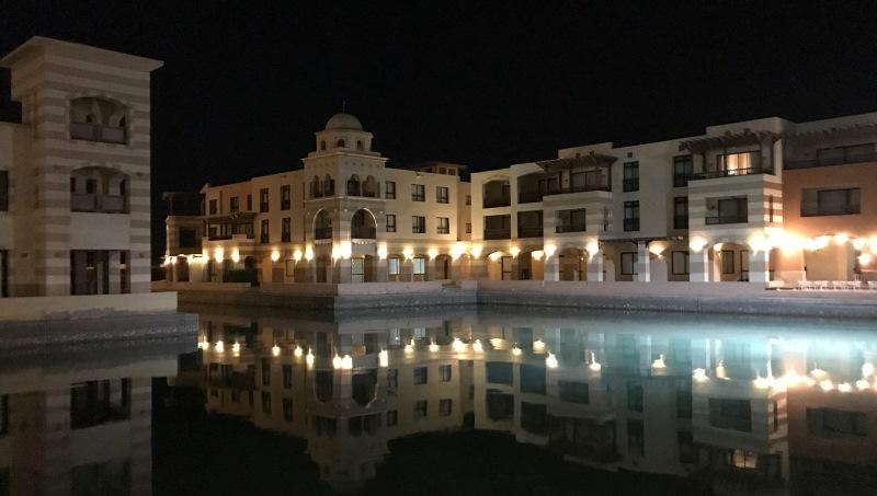 port ghalib budynki